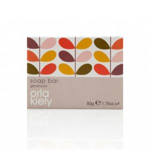 10_Orla Kiely Geranium 50g Boxed Soap
