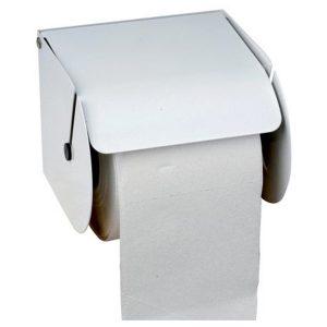 2_TOILET PAPER ROLL DISPENSER METAL