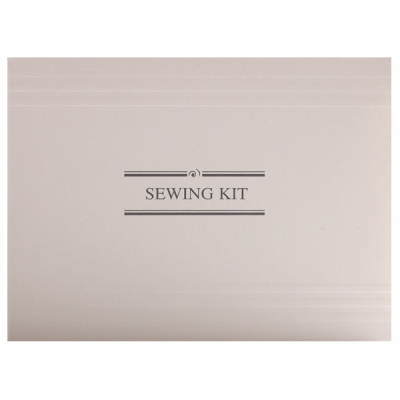 2_White & Grey Pre-Threaded Sewing Kit