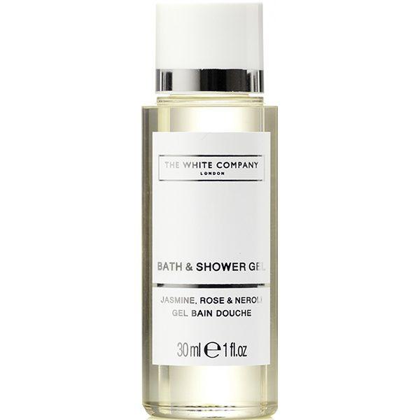 4_The White Company Flowers 30ml Bath & Shower Gel