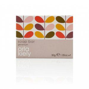 5_Orla Kiely Geranium 30g Boxed Soap