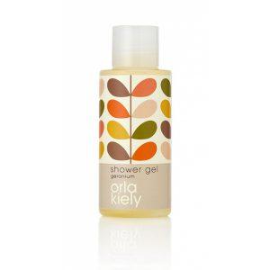 8_Orla Kiely Geranium 50ml Shower Gel