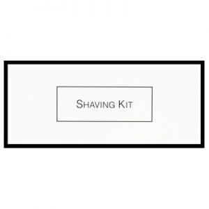 8_White & Black Boxed Shaving Kit