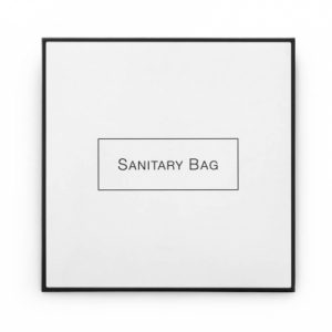 9_White & Black Boxed Sanitary Bags x2